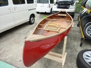 赤いボート